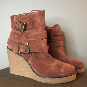 BCBGeneration wedge booties